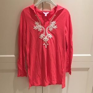 Lilly Pulitzer Embroidered Tunic